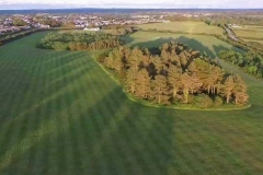 Drone Photo of central Racecourse