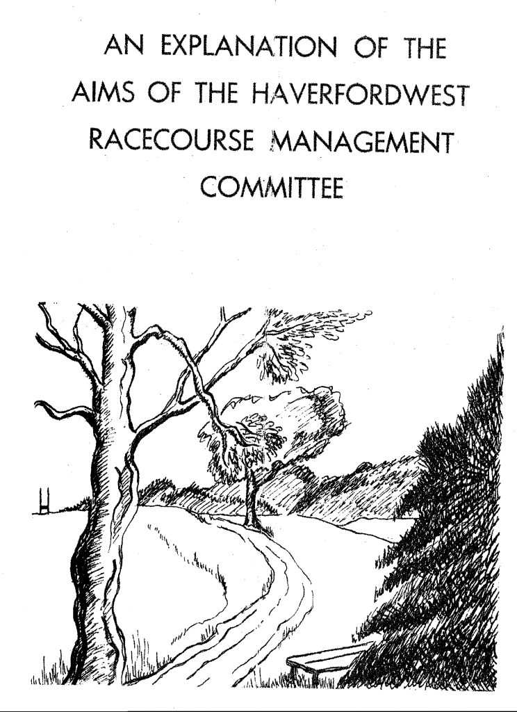 Racecourse Aims Pamphlet 1